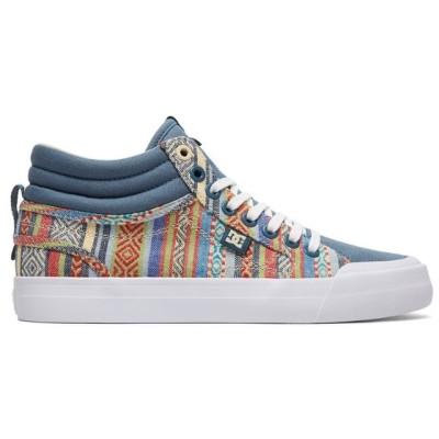 スポーツシューズ ディーシーシューズ DC Shoes Women's Evan HI TX SE High-Top Shoes ADJS300164 MULTI