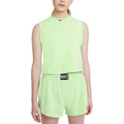 ナイキ レディース シャツ トップス Nike Women's Sportswear Washed Cropped Tank Top