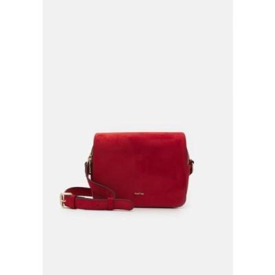 レディース アクセサリー CROSSBODY BAG ZINNIA - Across body bag - brick red