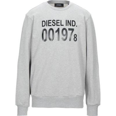 ディーゼル DIESEL メンズ スウェット・トレーナー トップス Sweatshirt Grey