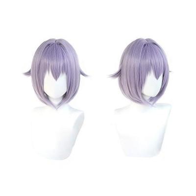 耐熱コスプレウィッグ 二番目の城 輿水幸子 コスプレ道具 cosplay用 ハロウィン 変装 wig +おまけ2点