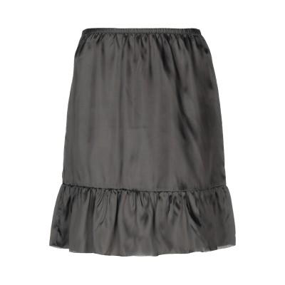 ロートレ ショーズ L' AUTRE CHOSE ひざ丈スカート ブラック 42 100% キュプラ ひざ丈スカート