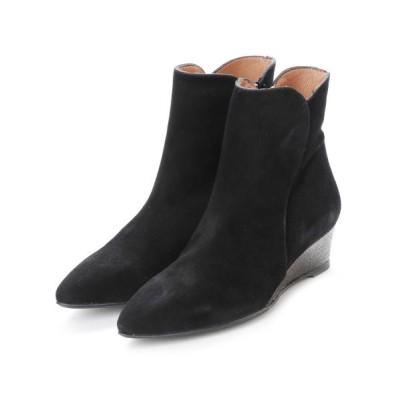 ground green store / MR / 11704 CUNA / ラメウェッジショートブーツ WOMEN シューズ > ブーツ