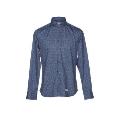 TINTORIA MATTEI 954 シャツ ブルーグレー 41 コットン 100% シャツ