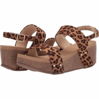 ボラティル VOLATILE レディース サンダル・ミュール シューズ・靴 Paolina Tan/Leopard