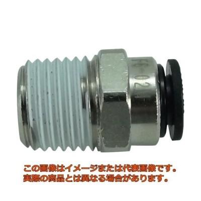 チヨダ ファイブメイルコネクタ 6mm・R1/4 F602M
