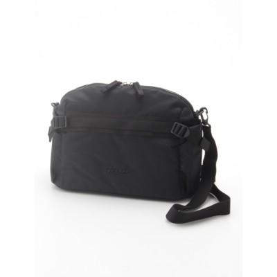 Y'SACCS(bag) (イザック(バック)) レディース リサイクルナイロンカジュアルテープショルダー ブラック フリー