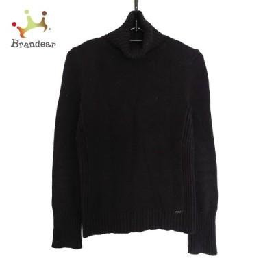 フォクシーニューヨーク 長袖セーター サイズ38 M レディース - 黒 タートルネック 新着 20210626