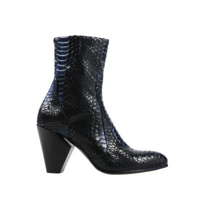 ストラテジア STRATEGIA ショートブーツ ブラック 36 紡績繊維 ショートブーツ