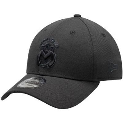 ニューエラ メンズ 帽子 アクセサリー Monarcas Morelia New Era International Club Basic 39THIRTY Flex Hat Black