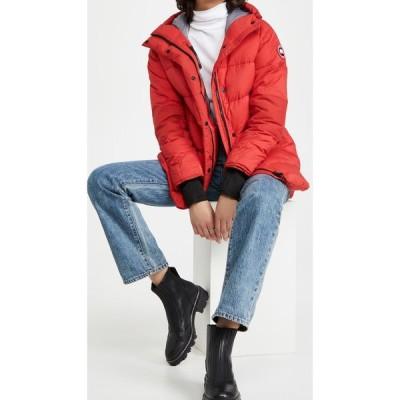 カナダグース Canada Goose レディース ジャケット アウター Alliston Jacket Red