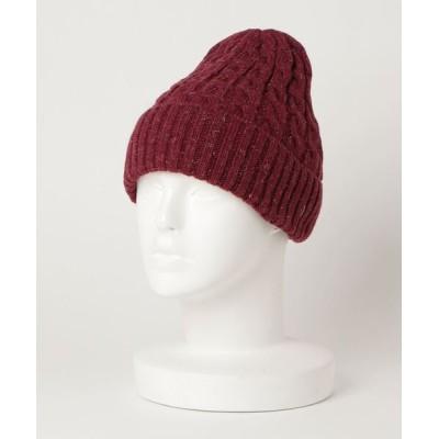 おしゃれスタ / UK YARN ALAN WATCH(ST) WOMEN 帽子 > ニットキャップ/ビーニー