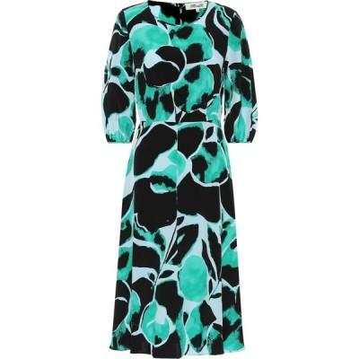 ダイアン フォン ファステンバーグ Diane von Furstenberg レディース ワンピース ワンピース・ドレス bliss silk crepe de chine dress Milo Giant Naples