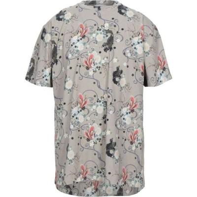 インノミネイト IH NOM UH NIT メンズ Tシャツ トップス t-shirt Grey