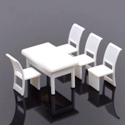 1/100 テーブル セット ミニチュア 模型 材料 机 デスク