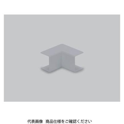 マサル工業 エムケーダクト付属品 内マガリ 後付け型 1号 グレー MDUC111 1セット(4個)(直送品)