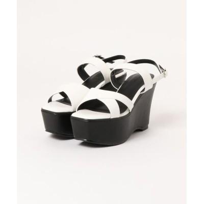 Parade ワシントン靴店 / 【厚底】クロスベルトストラップサンダル 457 WOMEN シューズ > サンダル
