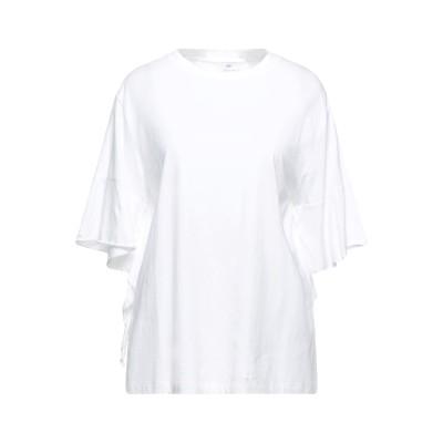 アリュード ALLUDE T シャツ ホワイト M コットン 100% T シャツ