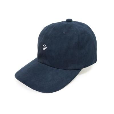 【キーズ】 帽子 キャップ メンズ レディース フェイクスウェード ベースボールキャップ イニシャル 春 夏 秋 冬 Keys ユニセックス ネイビー フリー Keys