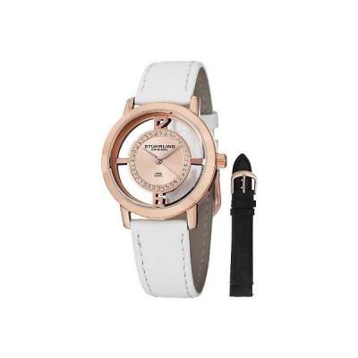 ストゥーリングオリジナル 腕時計 Stuhrling Original レディース 388L2 SET 03 Winchester Tiara 16k ローズ プレート 腕時計 Set