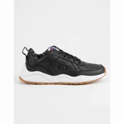 チャンピオン スニーカー 93Eighteen Black s Shoes Black