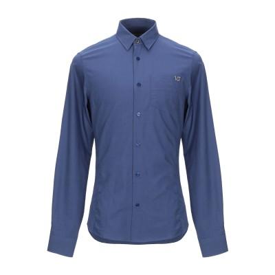VERSACE JEANS シャツ ブルー 48 コットン 100% シャツ