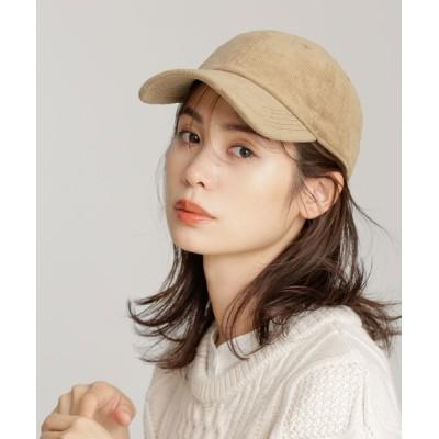 nano・universe / コーデュロイキャップ WOMEN 帽子 > キャップ