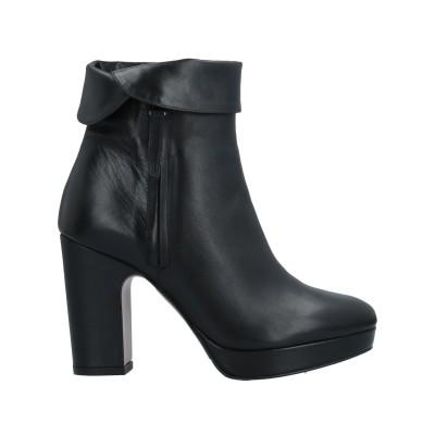 ALBANO ショートブーツ ブラック 35 革 ショートブーツ