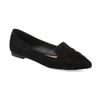 ジャーニーコレクション サンダル シューズ レディース Women's Mindee Flats Black