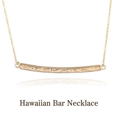 ハワイアンジュエリー ネックレス レディース 女性 バーネックレス シルバー イエローゴールドカラー ペンダント プレゼント ギフト ハワジュ