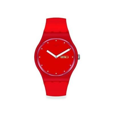 [スウォッチ] 腕時計 スウォッチ SWATCH VALENTINE'S DAY SUOZ718 レッド