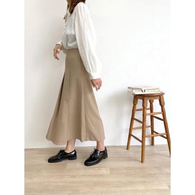 スカート Big pleats flare skirt / ビッグプリーツフレアスカート