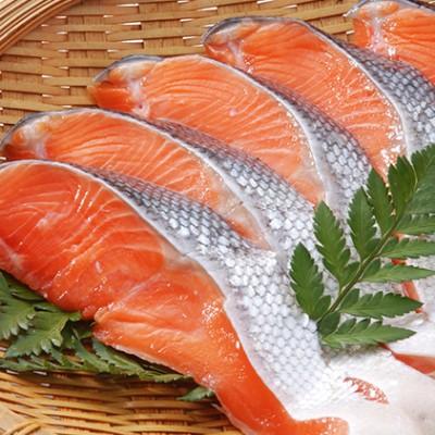 紅鮭切身甘口(半身)