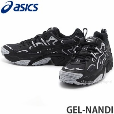 アシックス GEL-NANDI カラー:Graphite Grey/Black