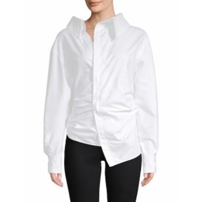 ケンゾー レディース トップス シャツ Asymmetrical Cotton Blouse