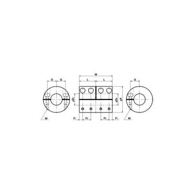カプリコン MLRシリーズ 鍋屋バイテック(NBK) MLR-16V-6-6