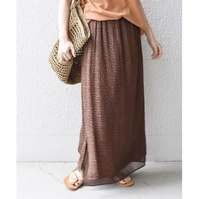 SHIPS for women / 【WEB限定】リバーシブルレオパードスカート◇ WOMEN スカート > スカート