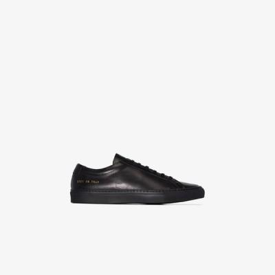 コモン プロジェクト Common Projects レディース スニーカー ローカット シューズ・靴 black Achilles low top sneakers black