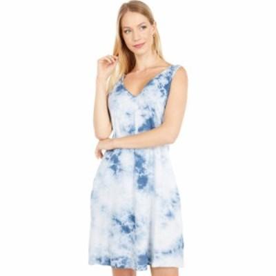 ファレティ Faherty レディース ワンピース ワンピース・ドレス Georgia Dress Blue Tie-Dye