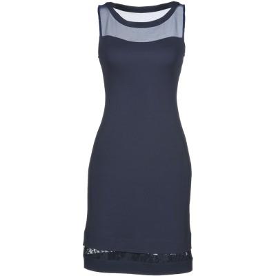 シェルヴィーノ ストリート SCERVINO STREET ミニワンピース&ドレス ダークブルー 40 レーヨン 100% ミニワンピース&ドレス