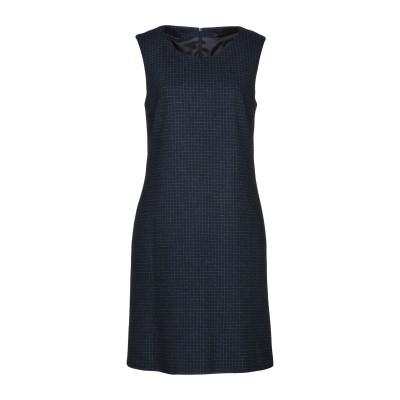 ペゼリコ PESERICO ミニワンピース&ドレス ダークブルー 48 コットン 100% ミニワンピース&ドレス