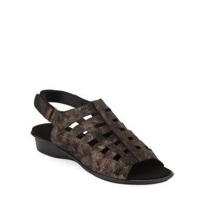 セストメウッシー レディース サンダル シューズ Ellia Laser-Cut Leather Comfort Sandal