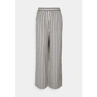 エディテッド レディース ファッション VALERY PANTS - Trousers - beige/black