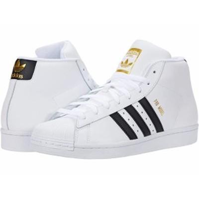 (取寄)アディダス オリジナルス メンズ プロ モデル adidas Originals Men's Pro Model Footwear White/Core Black/Gold Foil
