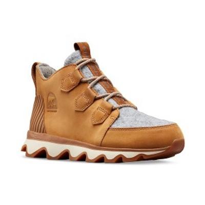 ソレル レディース スニーカー シューズ Kinetic Caribou Sneakers Camel Brown