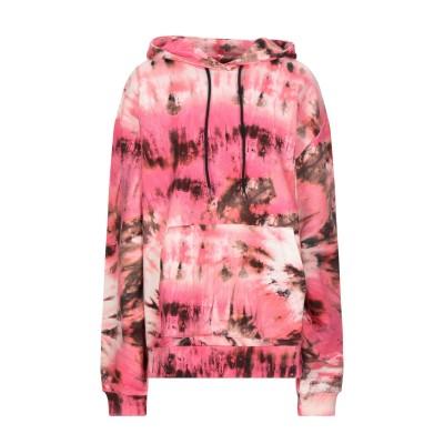 エムエスジーエム MSGM スウェットシャツ ピンク M コットン 100% スウェットシャツ