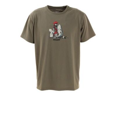 ミレー(Millet)半袖Tシャツ クラッカーマンTシャツ MIV01855-8486