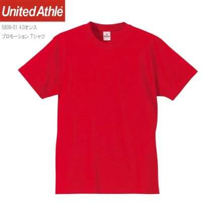 4.0ozプロモーションTシャツ/レッド/XS