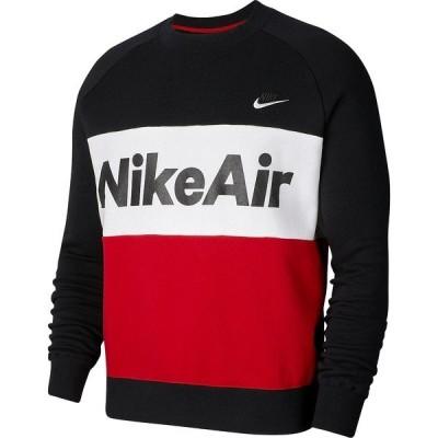 NIKE ナイキ ナイキ ナイキ エア フリース クルー CJ4828-011 メンズスポーツウェア ジャケット メンズ ブラック/ユニバーシティレッド/ホワイト/ホワイト...