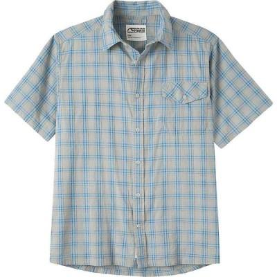 マウンテンカーキス Mountain Khakis メンズ 半袖シャツ トップス Shoreline SS Shirt Maritime